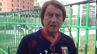 Sidio Corradi, tecnico della Leva 2004 del Genoa, commenta la vitto...