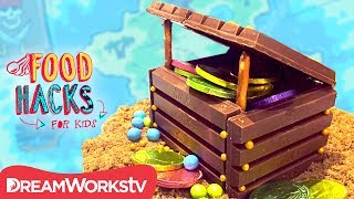 Chocolate Treasure Chest + More Pirate Hacks | FOOD HACKS FOR KIDS