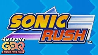 Sonic Rush by Kirbymastah in 46:46 - AGDQ2019