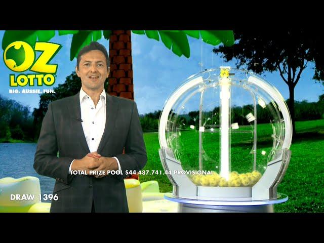 Oz Lotto Results Draw 1396 | Tuesday, 17 November 2020 | The Lott