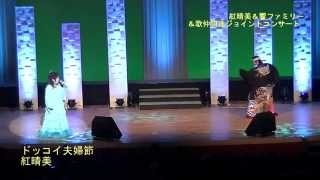 紅晴美 ステージ 「ドッコイ夫婦節」 (練馬文化センター小ホール2015.6.26)【歌謡曲・演歌・カラオケ】