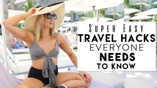 Travel Hacks Everyone NEEDS to Know! | How I Pack for a Trip