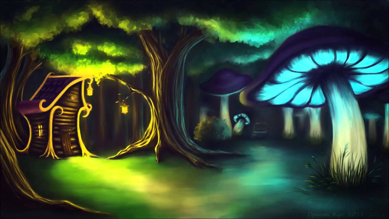 Desktop Wallpapers 3d Graphics Amazon Forest Celtic Forest Music Mushroom Woods Youtube