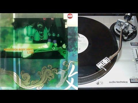 Ghost In The Shell : Megatech Body Vinyl Ltd - Vinyl LP face A (Sony music)