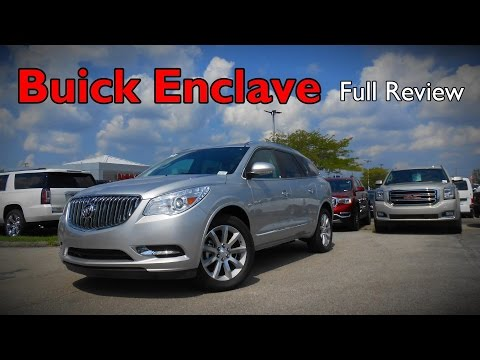 2017 Buick Enclave: Full Review | Convenience, Leather & Premium