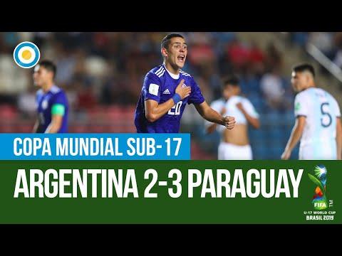 La escandalosa pelea al final del partido entre Argentina y Paraguay