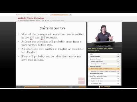AP English: Language & Composition