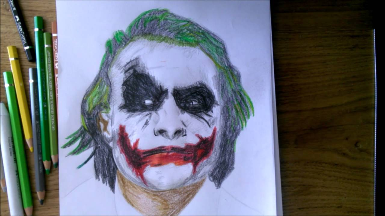 Joker Scribble Drawing : The joker drawing pixshark images galleries