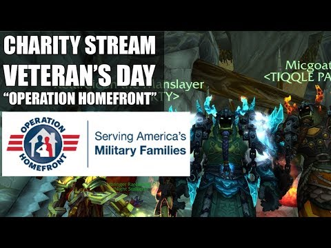 "❤ Charity Stream/Vet Raffle! - ""Operation Homefront"" - Happy Veterans Day ⚡ [Recorded Stream]"