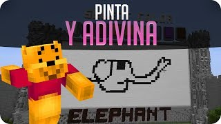 Pinta y adivina! jojojo! | Minecraft