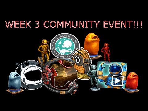 No Man's Sky Xbox One X (normal) - Where Is Week 3 Community Event???