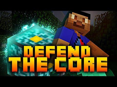 Minecraft *EPIC* DEFEND THE CORE with Vikkstar, PeteZahHutt, Tyler & Nooch (Minecraft PVP)