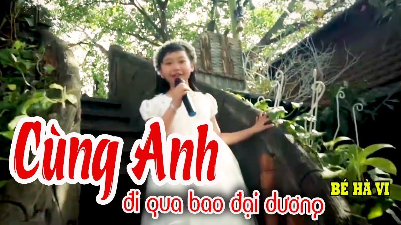 Cùng Anh Đi Qua Bao Đại Dương - Hà Vi Cover   Giật mình giọng hát CỰC HAY