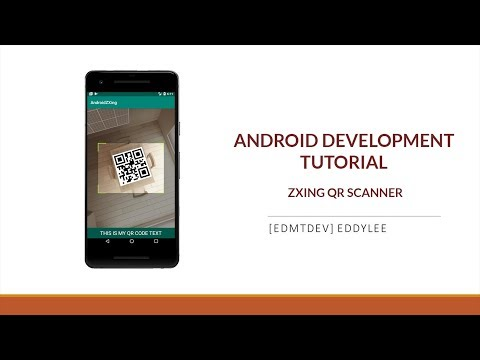 Android Development Tutorial - Read QR Code with ZXing thumbnail