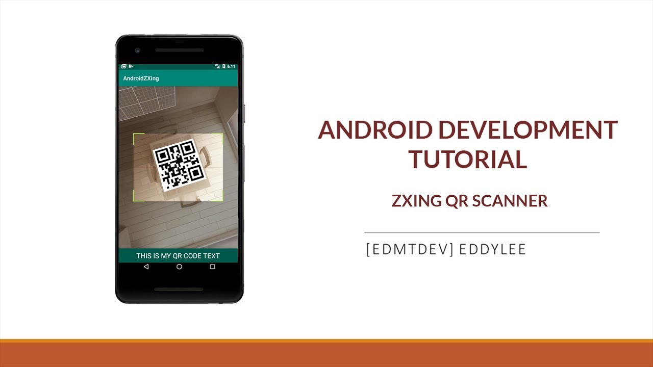 Android Development Tutorial - Read QR Code with ZXing