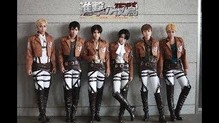 Repeat youtube video This love Shinhwa Shingeki no Kyojin Cosplay 進擊の巨人Full Dance Ver