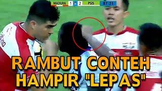 Download Video NGERI NGERONG !! Pemain Paling Brutal Asep Berlian Jambak Rambut Conteh ● Madura United vs PSIS MP3 3GP MP4