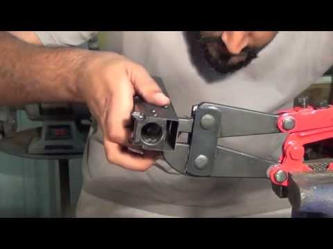 "Easy AK47 Build ""Homemade"": Front trunnion riveting ~ Step 2 of 6"