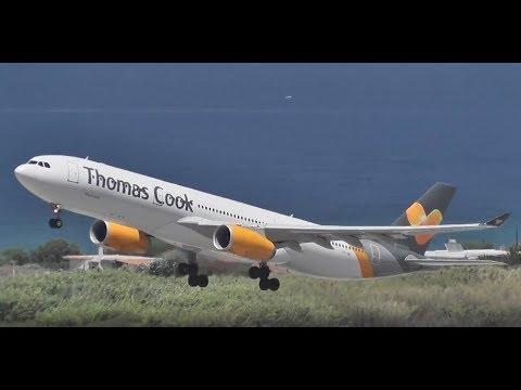 Thomas Cook Scandinavia take-off