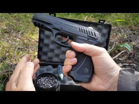 GAMO PT-85 BLOWBACK CO2 prova pistola cal 4,5mm