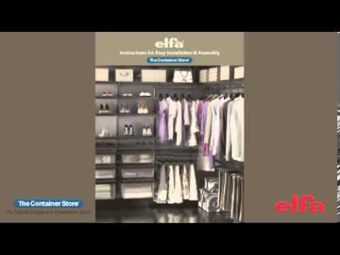 elfa гардеробные системы официальный