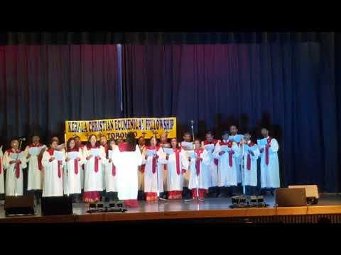 Ecumenical Christmas song 2018 Canadian Marthoma Church
