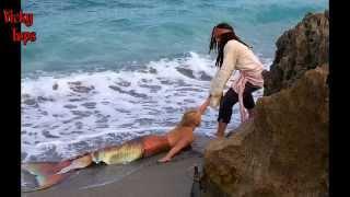 Mermaid videos caught on camera