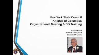 2020 Org Meeting 8 Programs NY Team