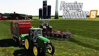 FARMING SIMULATOR 19 #10 - FERMENTER + NUOVO TERRENO w/Robymel - NORDFRIESISCHE MARSCH GAMEPLAY ITA