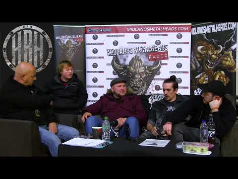 Everyday Heroes Live Interview @ Hard Rock Hell 12