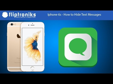 A app to hide text messages