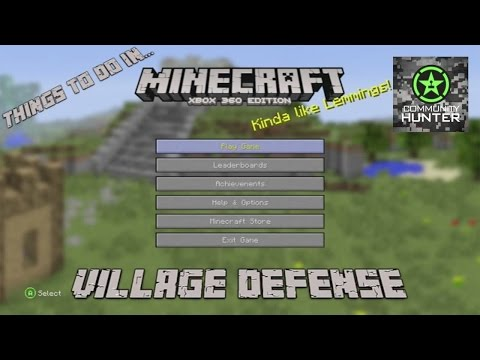 Things to do in... Minecraft - Village Defense