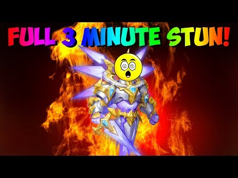 How To Full 3 Minute Stun The Saint Warden Boss! Castle Clash