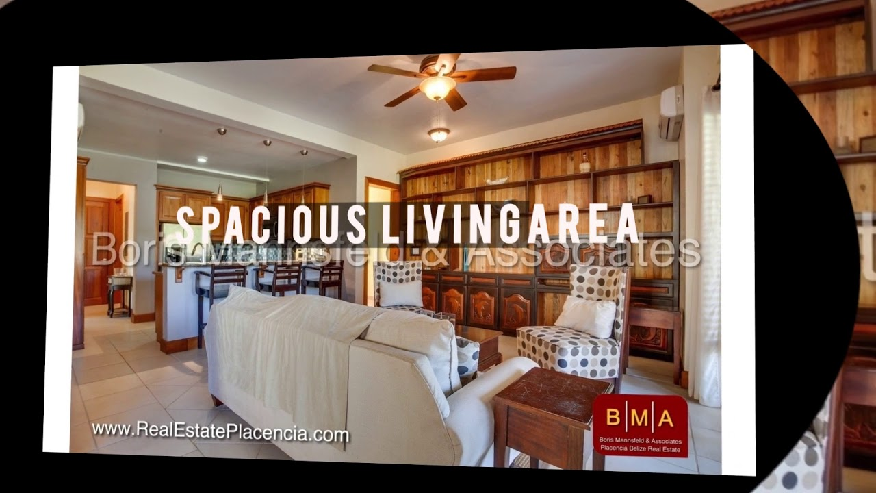 BMA Placencia Belize Real Estate - C147 Ground Floor Unit For Sale at  Villas at Cocoplum