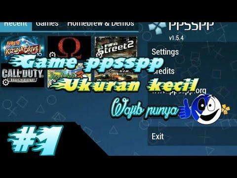 game ppsspp ukuran kecil