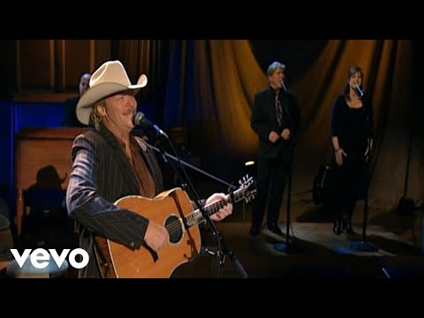 Alan Jackson - When We All Get To Heaven (Live)