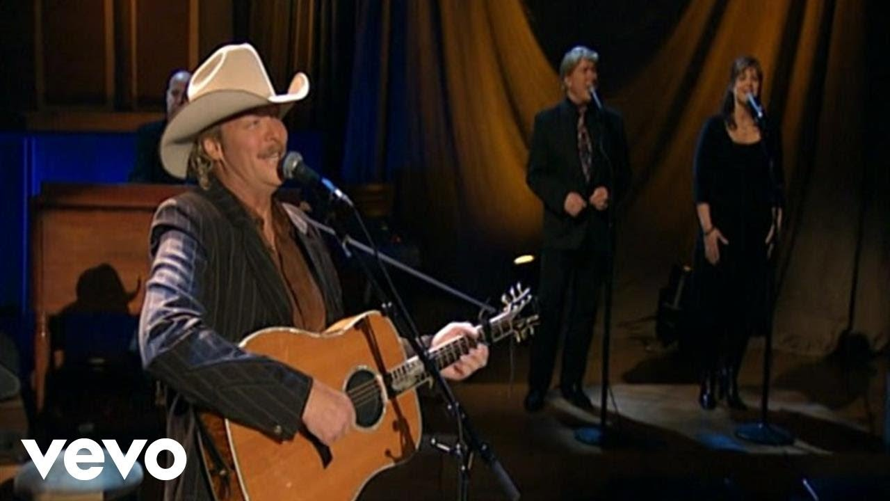 Alan Jackson - When We All Get To Heaven (Live) - YouTube