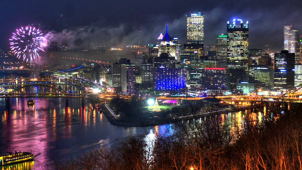 Pittsburgh Light Night Pictures