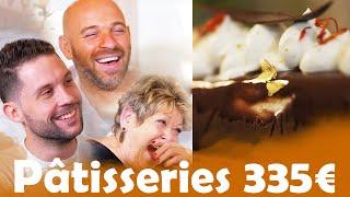Pâtisseries à 6€ VS Pâtisseries à 335€ avec Studio Danielle et Franck Gastambide !