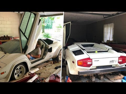 A Woman Looked Inside Her Grandma's Old Garage – And Discovered An Incredible Supercar Surprise