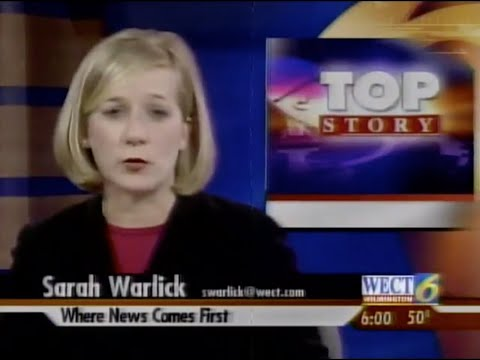 WECT 6pm News, 1/21/2007