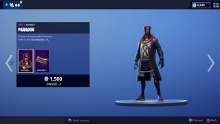 Fortnite Item Shop PARADOX and LACE are BACK!!!!! Item Shop Update 2/25/19 Giveaway Details