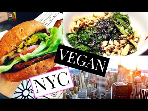 Top 3 VEGAN Restaurants in NYC 🗽