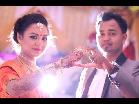 Bikash Weds Deepanki Wedding Short Video