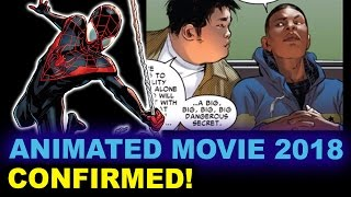 Spider-Man Animated Movie 2018 - Miles Morales - Beyond The Trailer