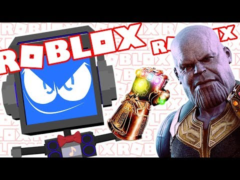 THANOS INFINITY GAUNTLET (Avengers Infinity War Movie) | Roblox Superhero Tycoon