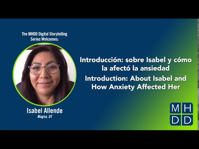 Isabel's Story Part One: About Isabel and How Anxiety Affected Her