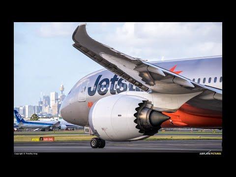 JetStar Airways / Sydney To Denpasar, Bali / Boeing 787- 8 / JQ 37