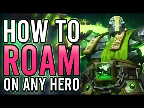 How To Roam On Any Hero | Dota 2 Pro Guide