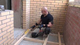видео Выход на балкон, демонтаж стены (бетона), резка бетона